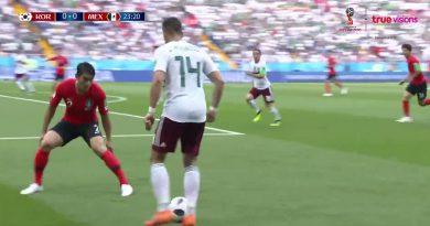 ไฮไลท์ เกาหลีใต้ 1-2เม็กซิโก – ฟุตบอลโลก2018