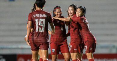 ฟูลแมตช์.. ฟุตบอลหญิงทีมชาติไทย 3-1 เมียนมา รอบรองฯชิงแชมป์อาเซียน 2019