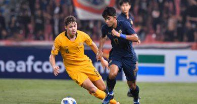 #AFCU23 : AUSTRALIA 2-1 THAILAND : HIGHLIGHTS